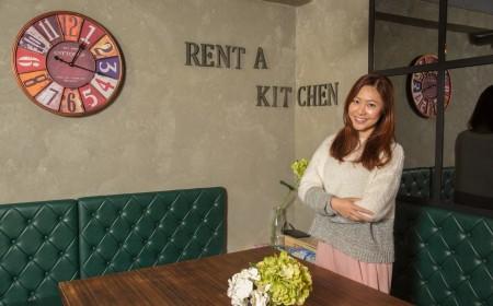 Rent-a-kitchen裝潢簡潔且富有美感,成功吸引不少年青人到來一顯廚藝。