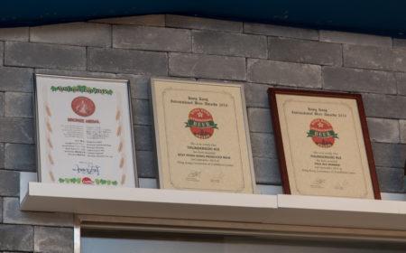 門神手工啤酒除了曾奪得本港的啤酒獎項的,去年揚威國際,獲頒發亞洲獎項。