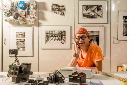 明室裡盡是朱sir的相機收藏,印證著他在攝影界多年的經歷。