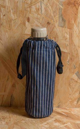 自製的水樽套外型美觀,是其得意之作。